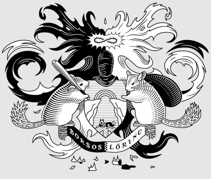 Borsos Lőrinc-címer