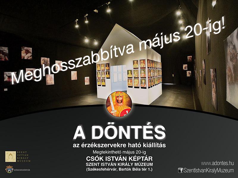 A DÖNTÉS kiállítás @ Csók István Képtár